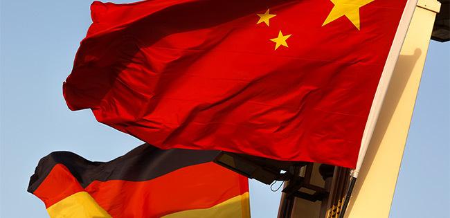 中国とドイツの国旗