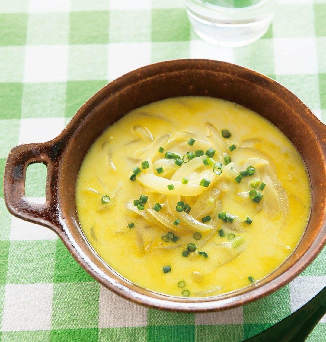 寒暖の差が激しいこの季節!<br />ヒートショックを防ぐ<br />玉ねぎのあったか長寿スープ