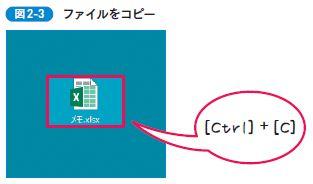 ファイルをコピー