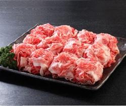 「福岡県久留米市」の「九州産黒毛和牛 切り落とし1.2kg」
