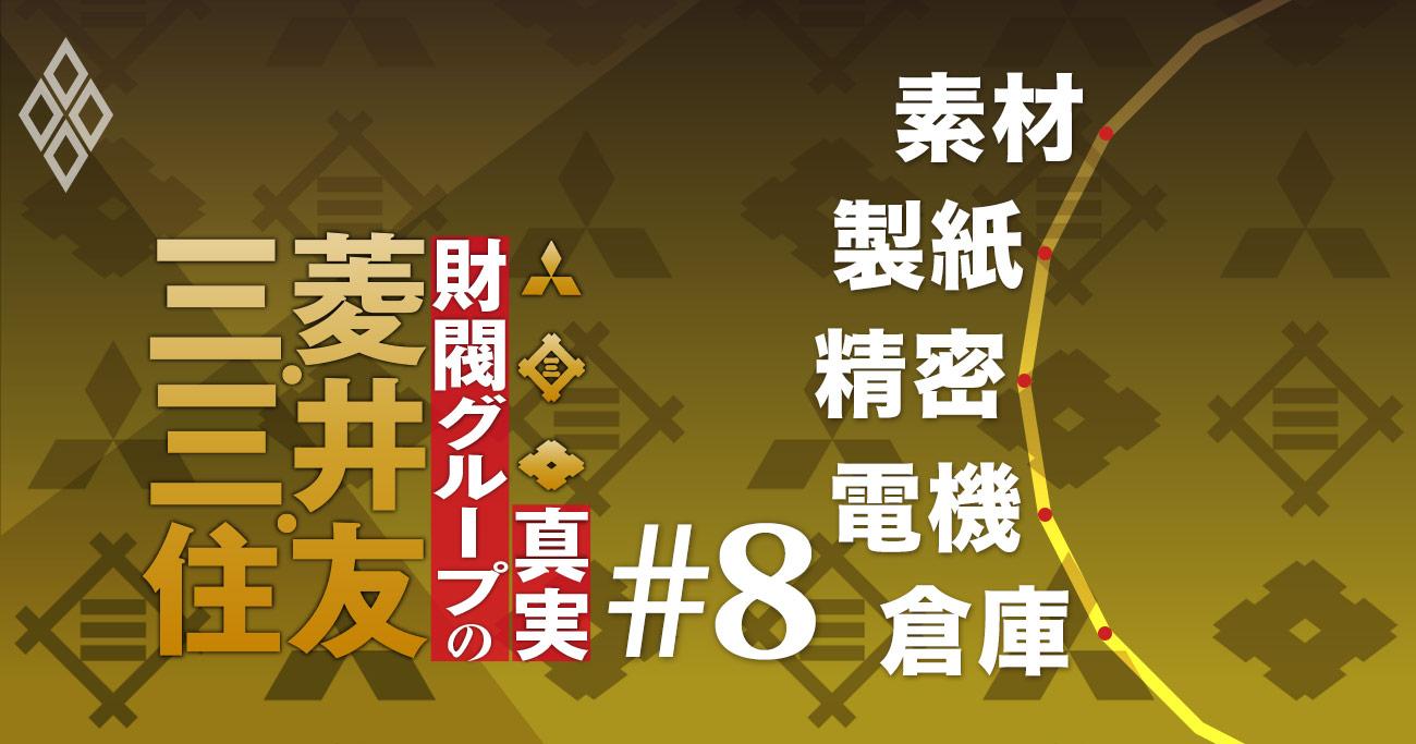 三菱vs三井vs住友「因縁のライバル企業」対決5番勝負
