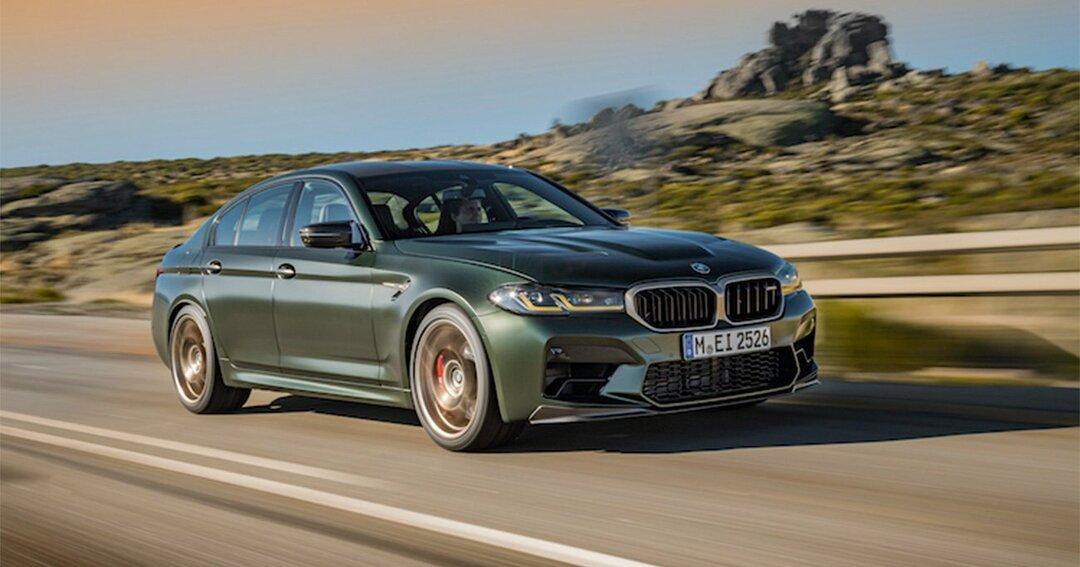 日本で限定わずか5台!?サーキット仕様の「BMW M5 CS」、そのお値段は?
