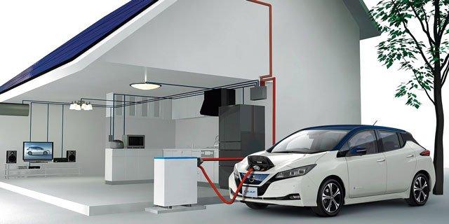 FIT(固定価格買取制度)が2019年11月から順次終了するため、電気自動車の日産リーフを蓄電池として使う方法が注目されている