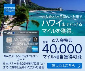 ANAアメックスならANAマイルが無期限で貯められて還元率アップ! じっくり貯めて長距離航空券との交換を目指せ!
