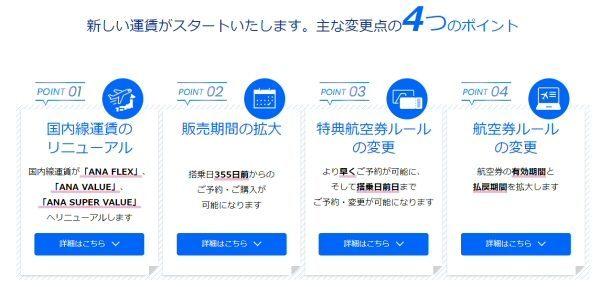 ANAが「国内線特典航空券」の発券ルールを変更