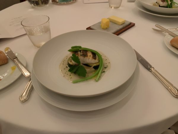 「オーベルジュ・ド・リル トーキョー」の魚料理