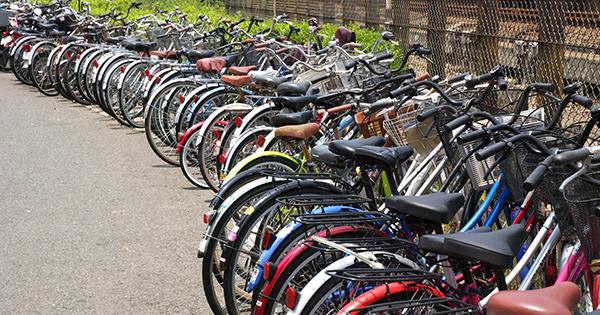 困った自転車放置!ある看板をつけたら放置がなくなる、そのコトバとは?