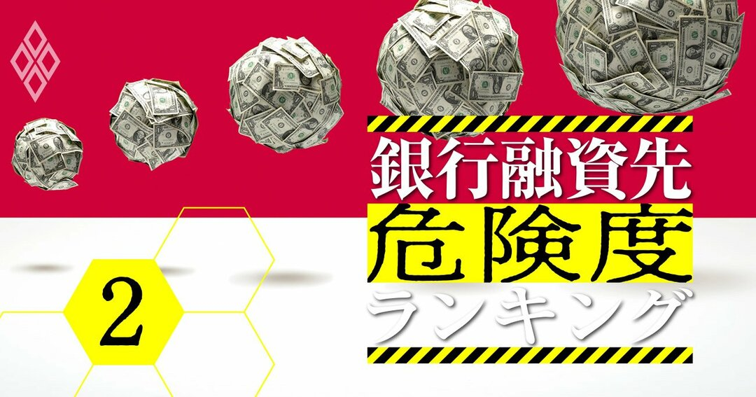 銀行融資先危険度ランキング#2