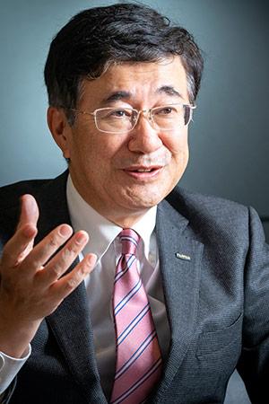 富士フイルムホールディングスの岡田淳二取締役