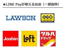 LINE Payが使えるお店