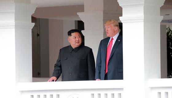 米朝首脳会談では「完全な非核化」が申し合わされたが…