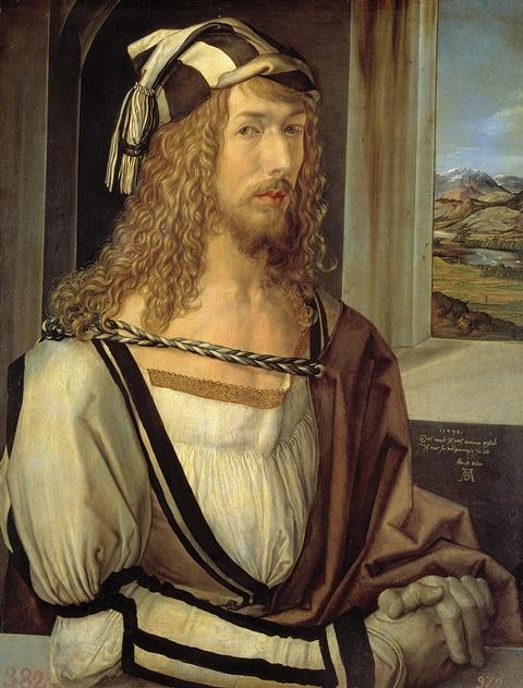 アルブレヒト・デューラー『1498年の自画像』