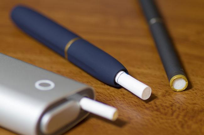 3種類の加熱式たばこ