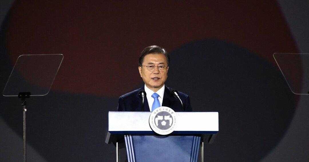 韓国,文大統領