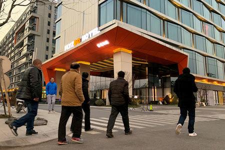中国アリババの近未来ホテル
