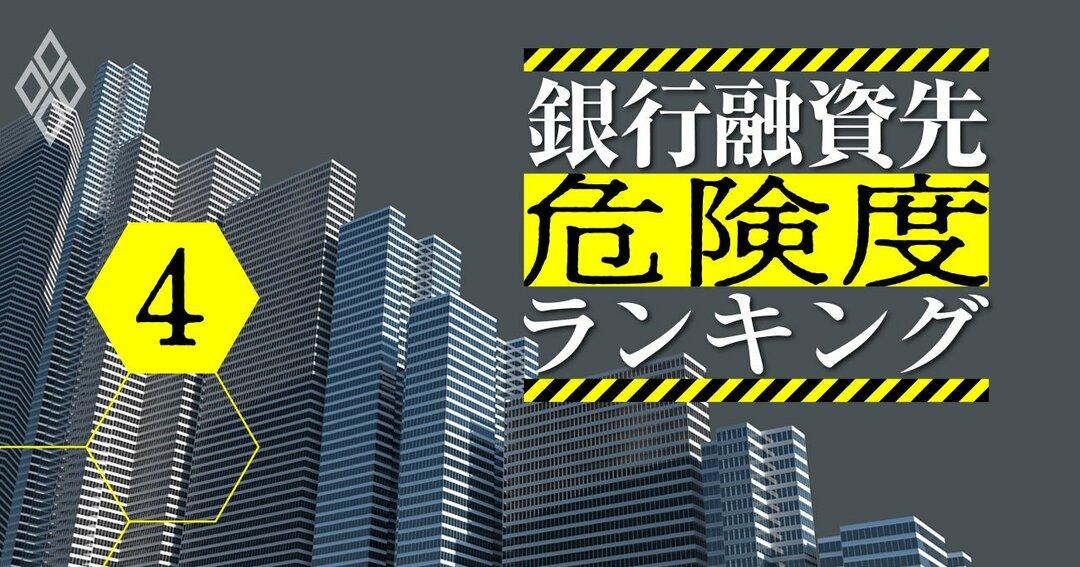 銀行融資先危険度ランキング#4