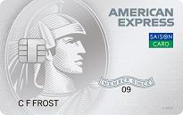 「セゾンパール・アメリカン・エキスプレス・カードdigital」のカードフェイス