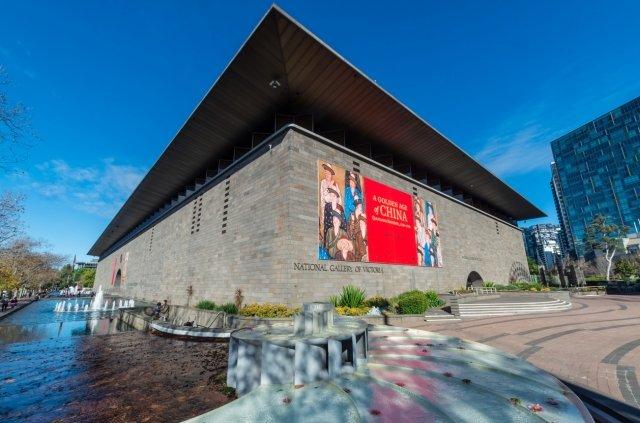 オーストラリア,メルボルン,国立ビクトリア美術館