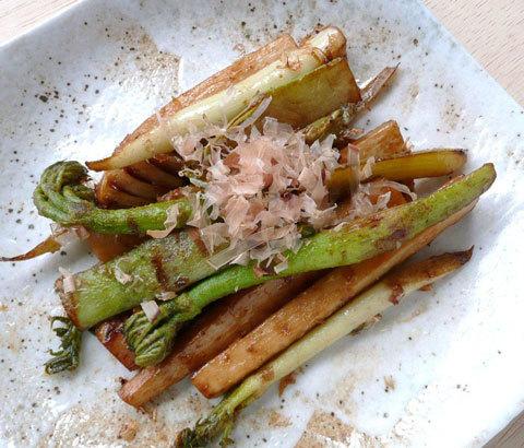 防空壕跡で育てられる独活《うど》は<br />大木ならぬ東京のブランド野菜