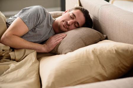 できるビジネスマンは睡眠も大切にします。