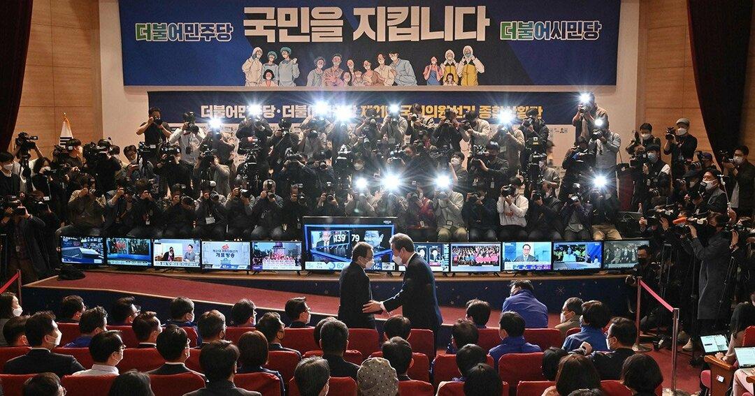 4月15日に投開票された韓国総選挙