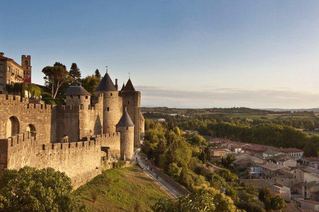 カルカソンヌの城塞