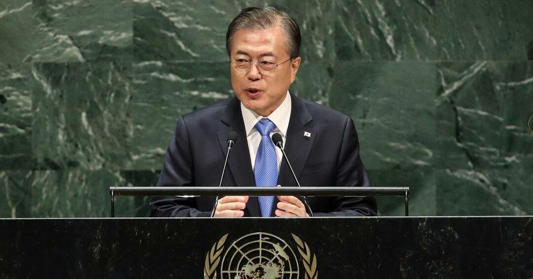 韓国・文在寅大統領、国連総会で起死回生ならず、元駐韓大使が解説