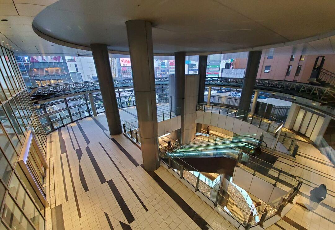 渋谷ヒカリエ4階の空間