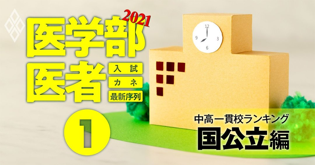 医学部&医者2021入試・カネ・最新序列#1