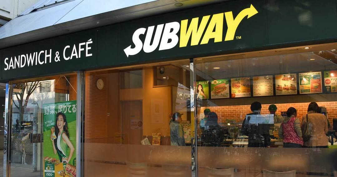 大規模閉店をしたサンドイッチチェーン・サブウェイ