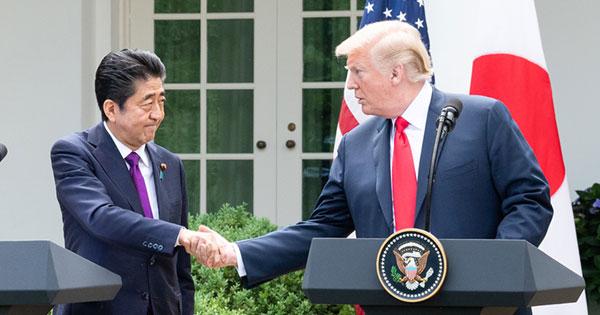 6月に行われた日米首脳会談
