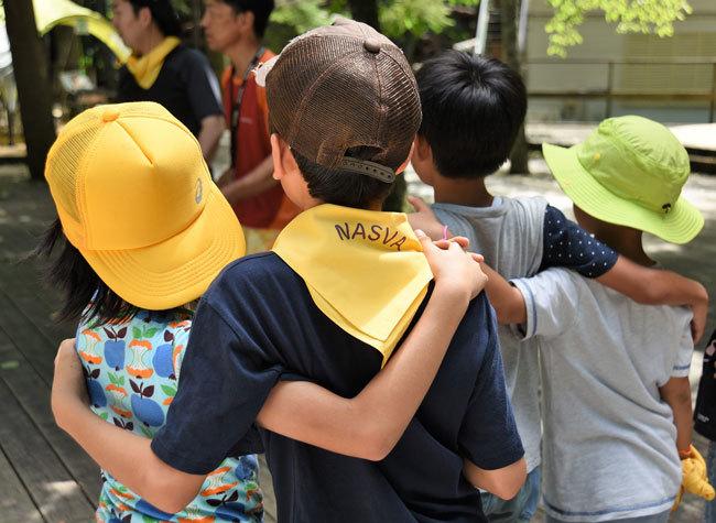 「交通遺児友の会」の夏キャンプ