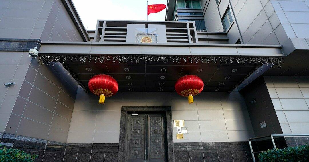 米ヒューストンの中国総領事館