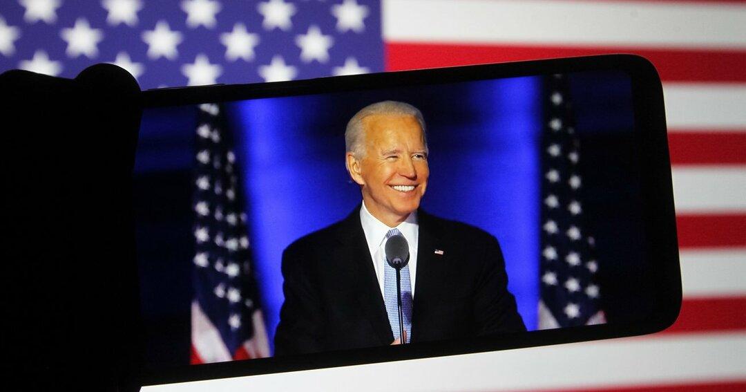 ジョー・バイデン,米大統領選選挙
