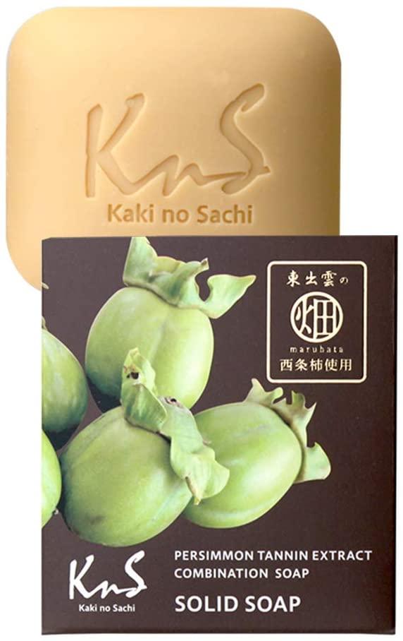 柿のさち KnS 薬用柿渋石鹸 加齢臭・体臭対策用