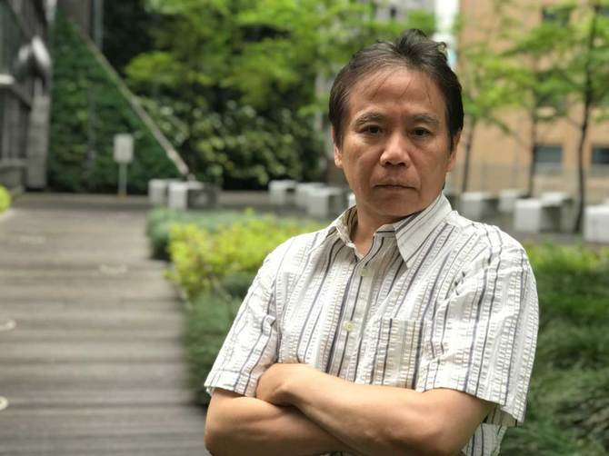 横田増生氏