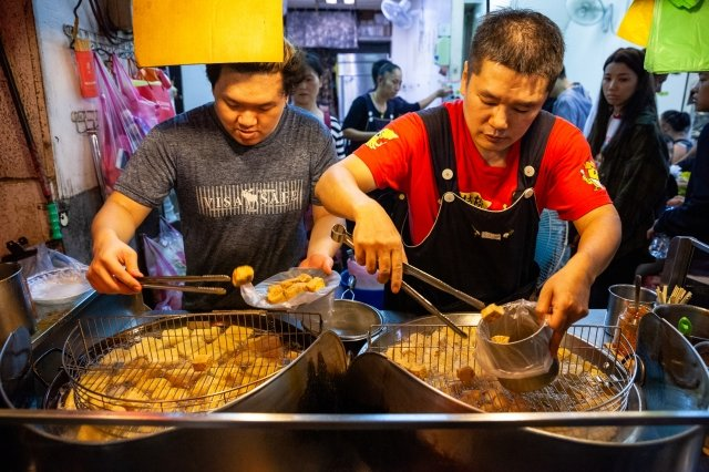 夜市で買える臭豆腐