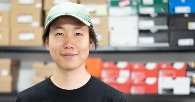 ブライノ代表取締役の濱田航平氏 Photo by Yuhei Iwmaoto