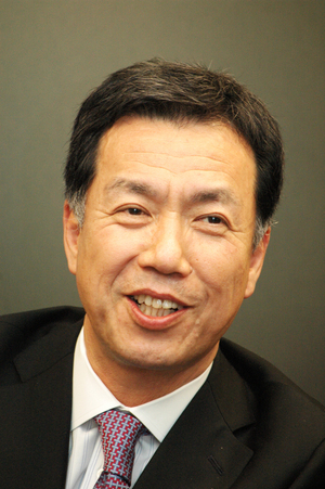 JCOM社長 牧 俊夫 <br />新しい企業理念に不満なら出て行ってもらう