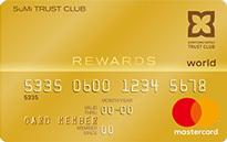 「SuMi TRUST CLUBリワードワールドカード」のカードフェイス