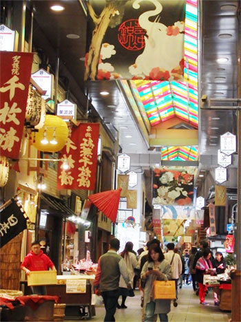錦市場 外国人観光客 中国人