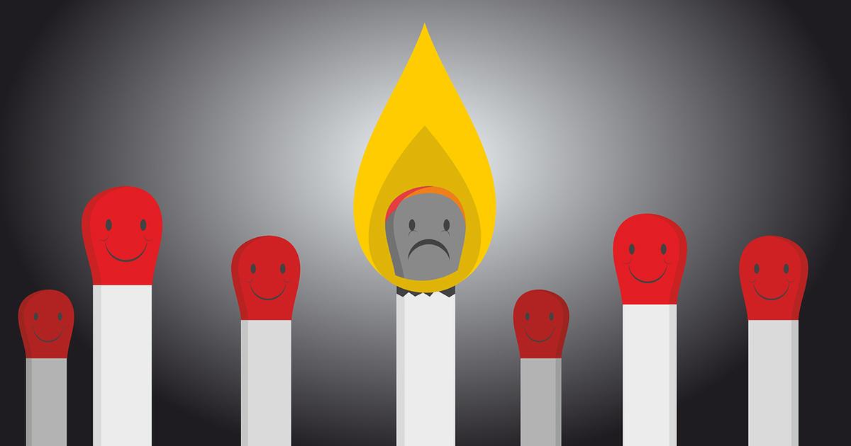 長時間労働とストレスに負けない「燃え尽きない働き方」と予防策
