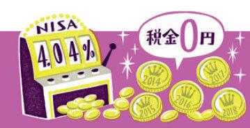 NISA口座は税金ゼロ円!