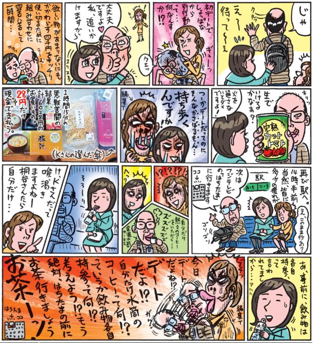桐谷さんの株主優待デート