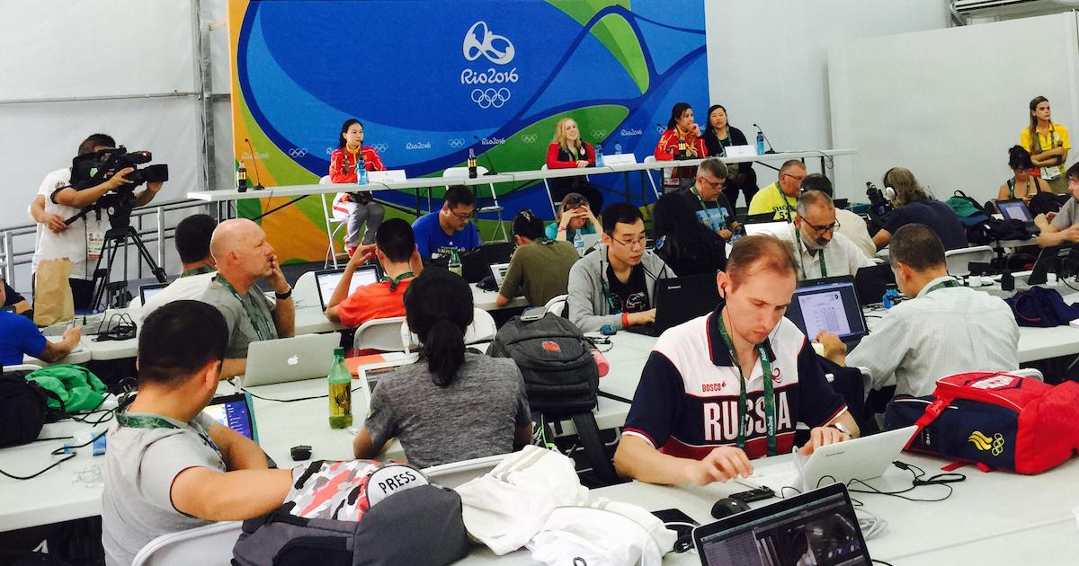 テレビには映らないオリンピック報道の舞台裏