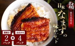 「鹿児島県東串良町」の「鰻養殖のプロが育てた!完全養殖日本なまずの味わいセット!」