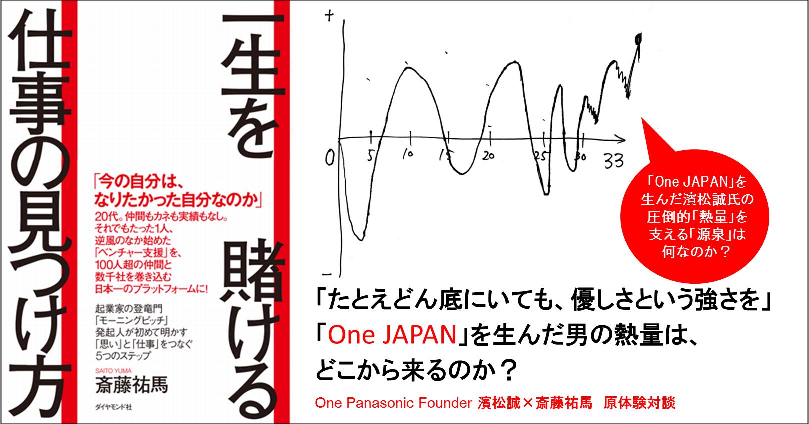 「たとえどん底にいても、優しさという強さを」「One JAPAN」を生んだ男の熱量は、どこから来るのか?