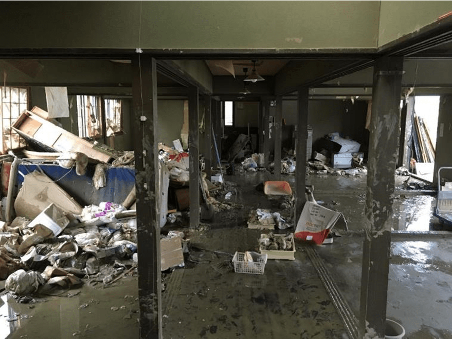 被災住宅を避難機能付き共生アパートに活用、岡山・倉敷の取り組み
