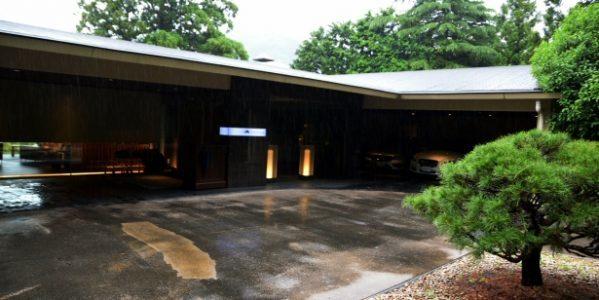 箱根・翠松園の外観