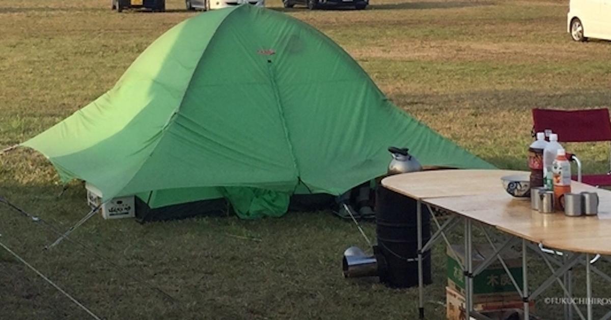 この夏、災害対策も兼ねたテント泊デビューのススメ